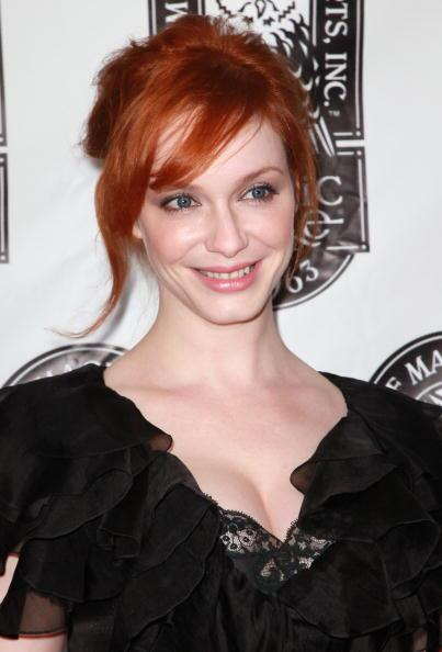 Actress Christina Hendricks attends the 42nd Annual Academy of Magical Arts Awards at Avalon Hollywood on April 11, 2010 in Hollywood, California. (Photo by David Livingston/Getty Images)