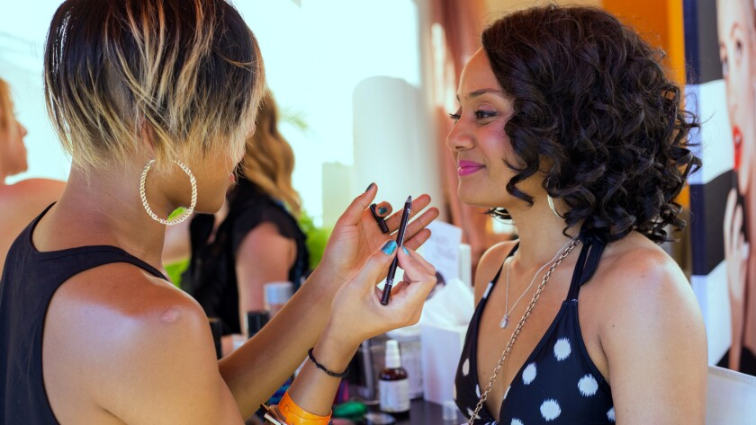 Sephora offers free monthly makeup makeovers at the Venetian's Tao Beach
