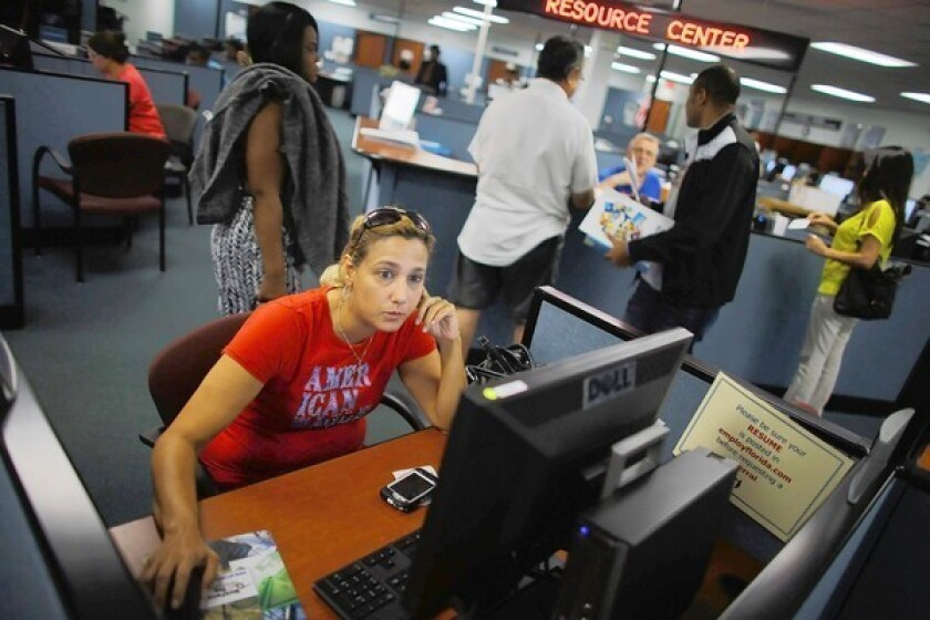 Unemployment rate drops to 7.8% in September