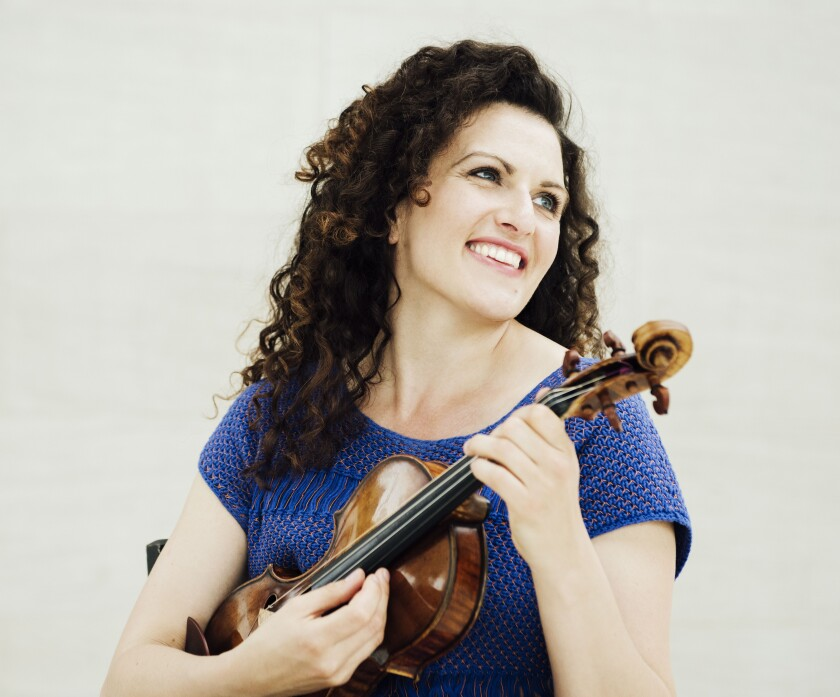 Violinist Liza Ferschman is one of the 88 artists who will perform as part of La Jolla Music Society's 2020 SummerFest in August.