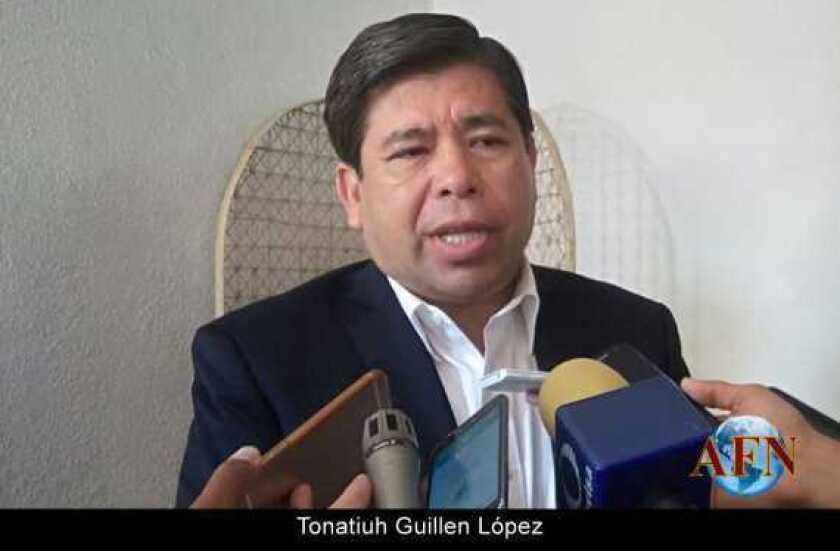 Tonatiuh Guillen, candidato al Sistema Anticorrupción