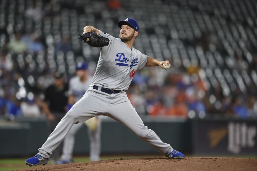 APphoto_Dodgers Orioles Baeseball