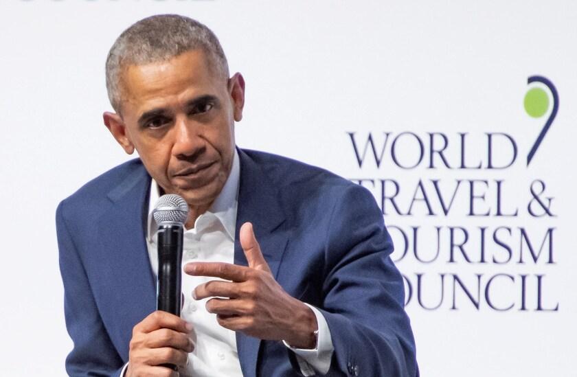 Fotografía del expresidente de Estados Unidos Barack Obama. EFE/Raúl Caro/Archivo