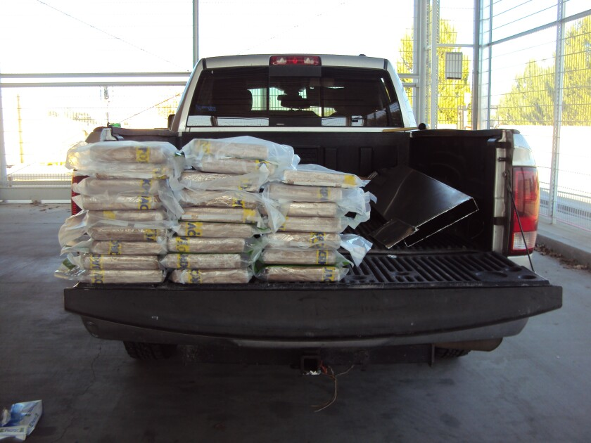 Cocaine found in truck