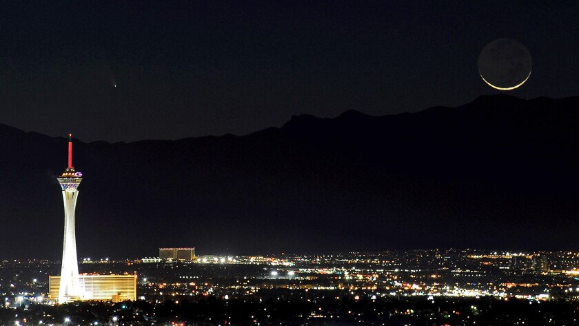Regardless of whether you take the ride, you can stay at the Stratosphere Casino, Hotel & Tower in Las Vegas this weekend for $479.