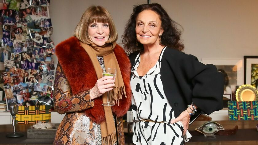 Diane von Furstenburg and Steven Kolb Welcome : the new Editors in Chief