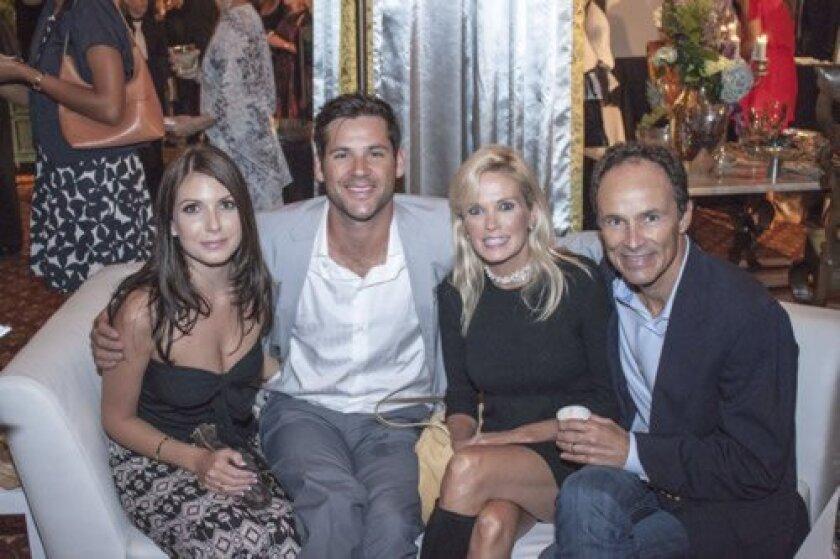 Kylie McGlynn, Erik Skoldberg, Kelley Maher-Neff and William Neff
