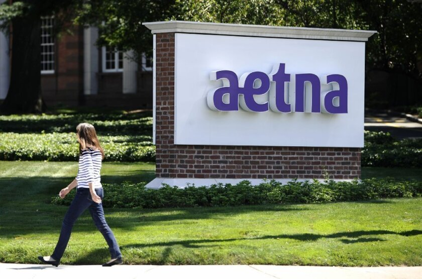 California's managed-care regulator says Aetna's latest rate increase for small employers is unreasonable.