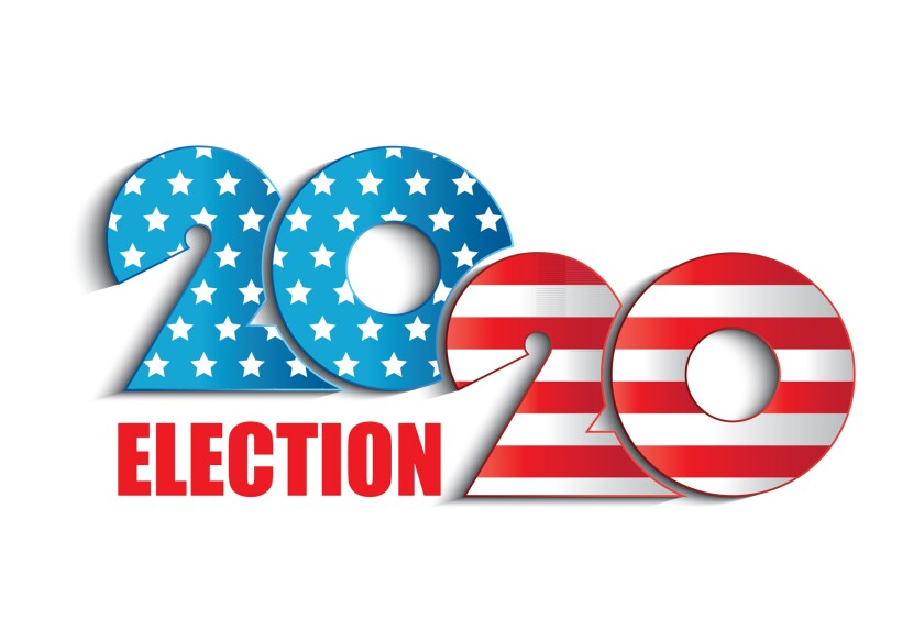 Election 2020 clip art