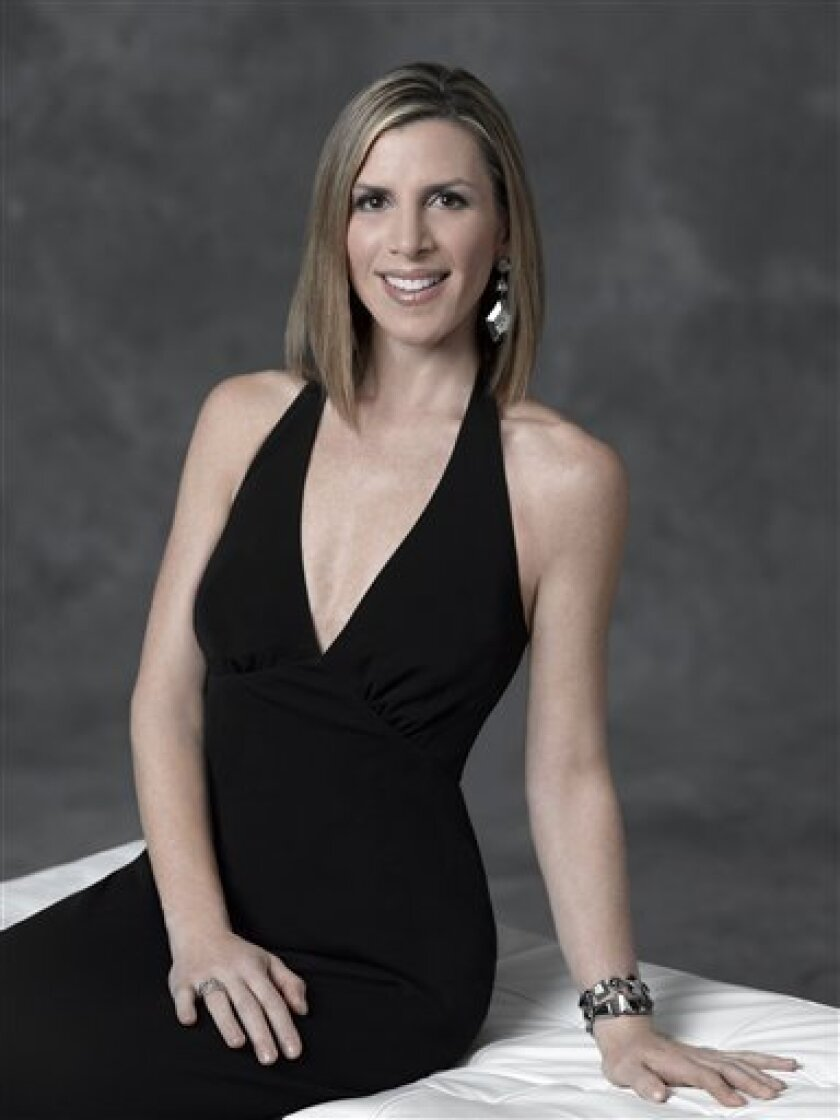 """In this publicity image released by Bravo, Jennifer Gilbert, from """"The Real Housewives of New York City,"""" is shown. (AP Photo/Bravo, Mitchell Haaseth)"""