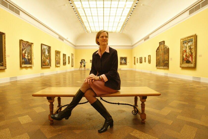 Julia Marciari-Alexander, the San Diego Museum of Art's deputy director for curatorial affairs.