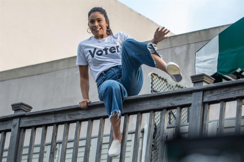 La actriz y activista Gina Rodriguez. EFE/Archivo