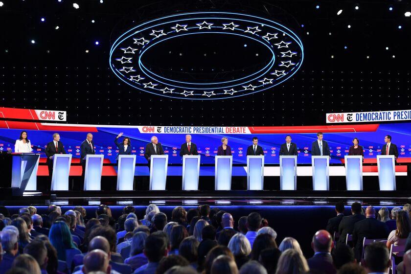 7 takeaways from the Democratic debate outside Columbus, Ohio