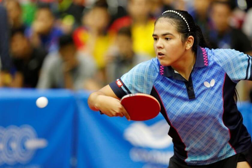 Adriana Díaz, tenista de mesa de Puerto Rico. EFE/Archivo