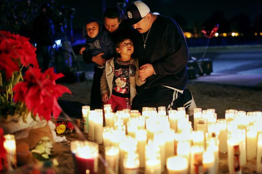 Mourners honor San Bernardino victims