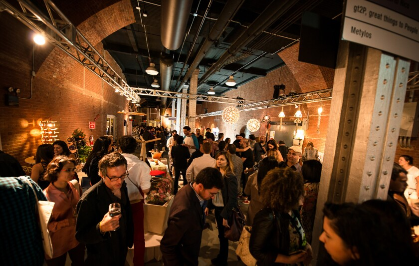 Opening night at Wanted Design 2013