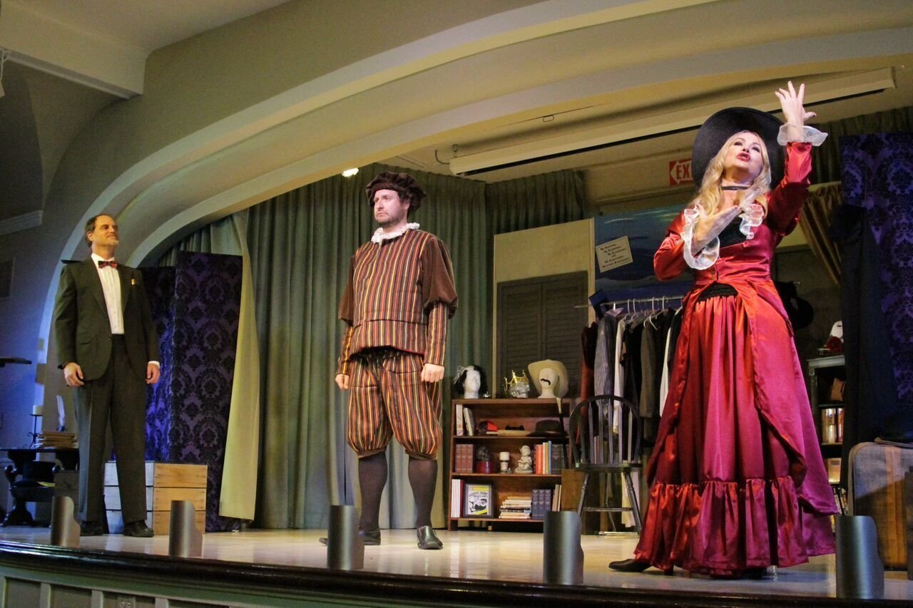 Point Loma Playhouse Opens The World Premiere Comedy The Complete History Of Theatre Abridged The San Diego Union Tribune