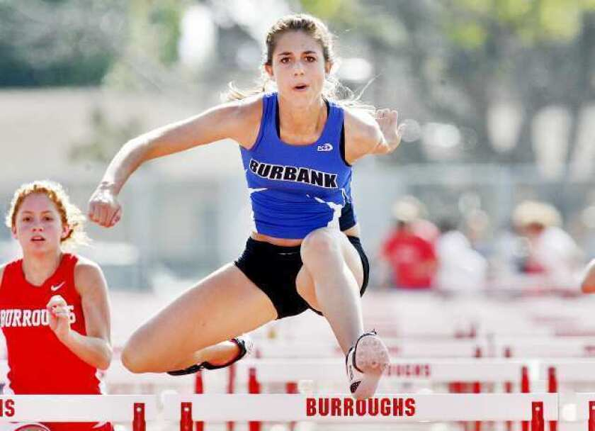 Burbank teams dominate in rivalry sweep