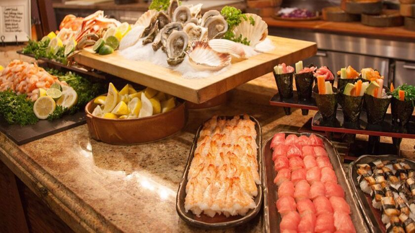 Yes, the buffet at Valley View Casino & Hotel is known for its endless lobster, but guests can also
