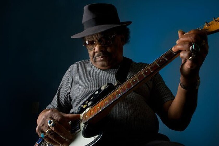 Local blues icon Tomcat Courtney. (Nelvin Cepeda / Union-Tribune)