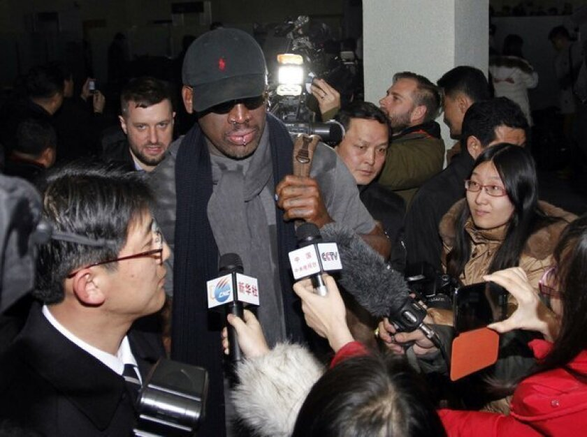 Dennis Rodman in North Korea: What could possibly go wrong?