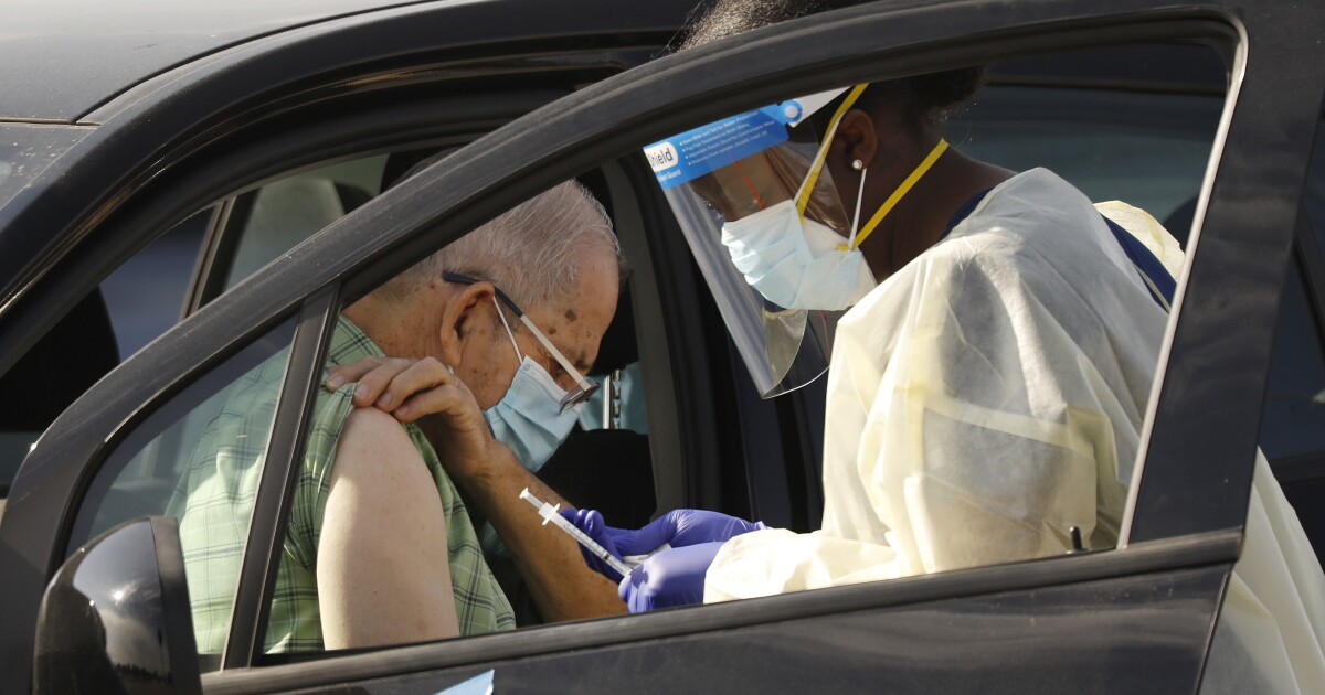 Vaccinating Californians 65 and older may last till June, pushing back timetable for others