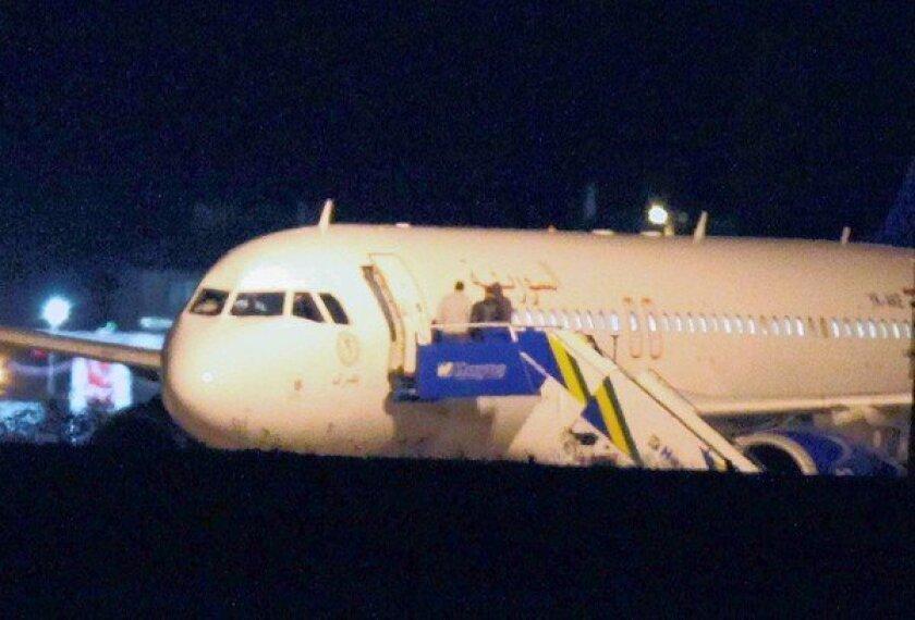Turkey says Syria-bound jet had munitions