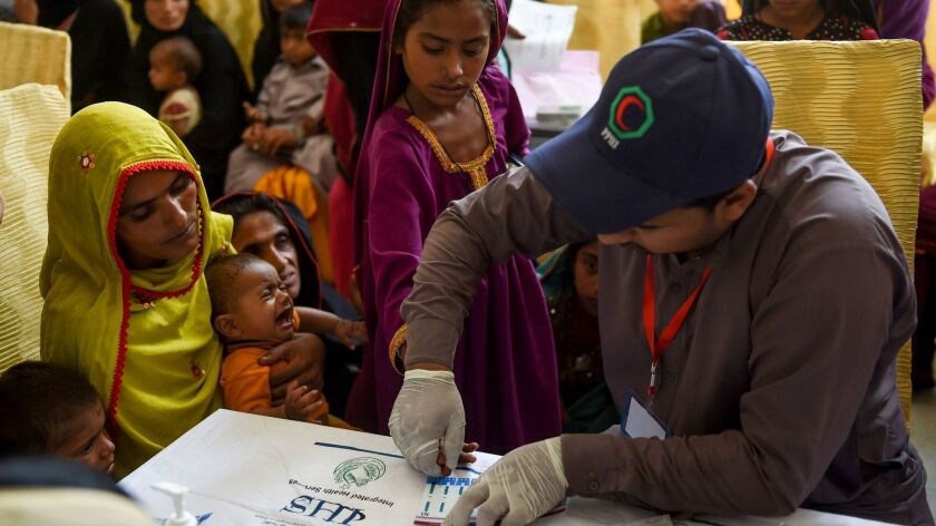 PAKISTAN-HEALTH-HIV-CHILDREN