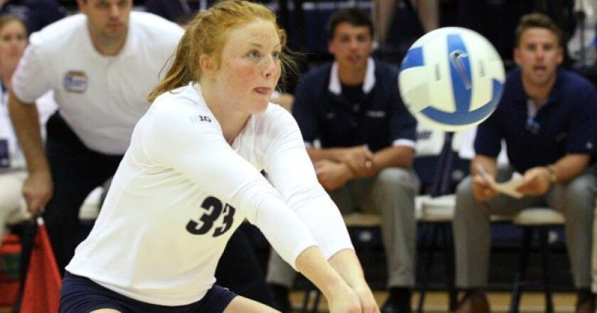 Lacey Fuller played for Penn State, which won the title.