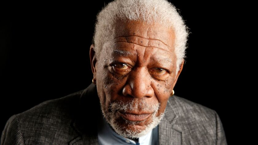 NEW YORK, NEW YORK--MARCH 27, 2017--Morgan Freeman photographed in Manhattan, New York on March 29,