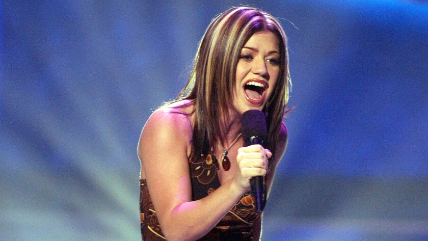 Kelly Clarkson started it all off.