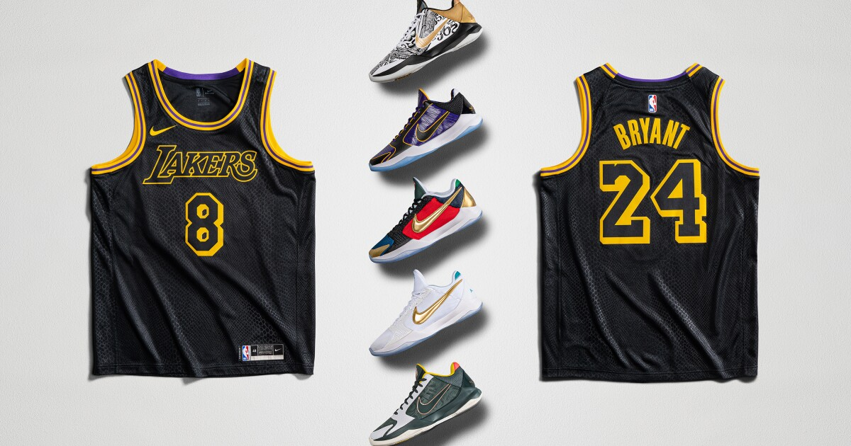 Nike Mamba Week To Feature New Kobe Bryant Sneakers Jersey Los Angeles Times