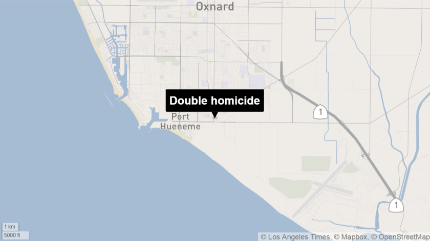A man and woman were found fatally shot in an Oxnard home Saturday.