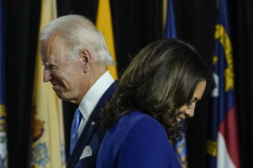 Full Coverage Kamala Harris U S Senator And Biden Vp Pick Los Angeles Times