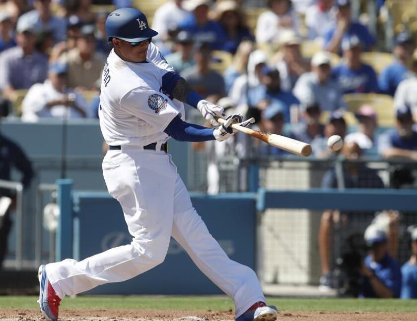 El beisbolista dominicano, Manny Machado. EFE/Archivo