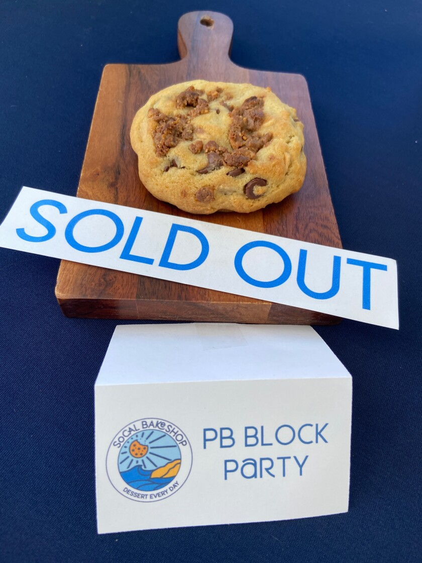 The PB Block Party is one of SoCal Bakeshop's favorites.