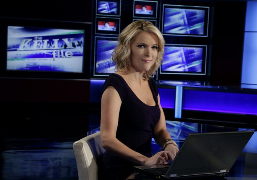 "Megyn Kelly of Fox News moves to prime time Monday with ""The Kelly File."""