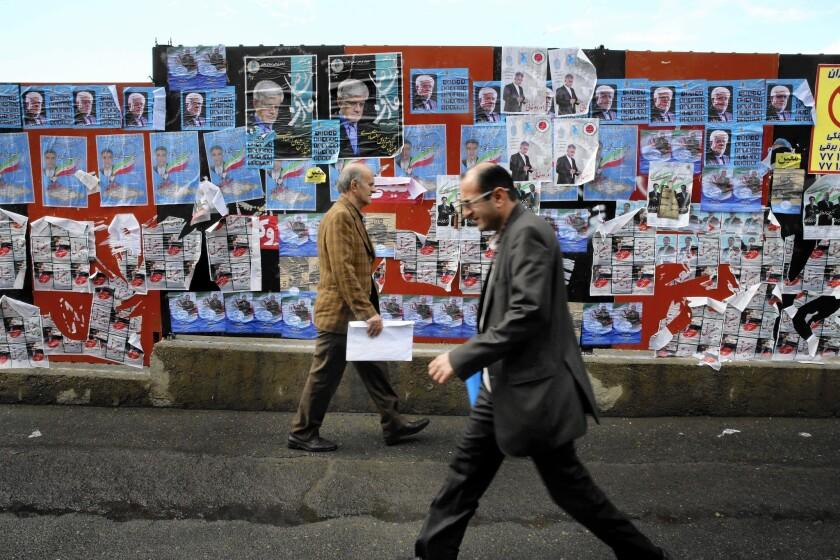 Iran parliamentary vote nears