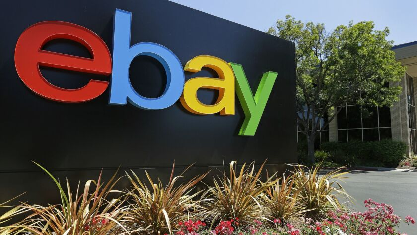 """EBay said its strategic review won't necessarily """"result in a sale, spin-off or other business combination."""""""