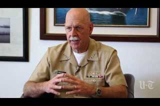 "Vice Admiral Tyson ""to leave a large hole"" in the Navy"