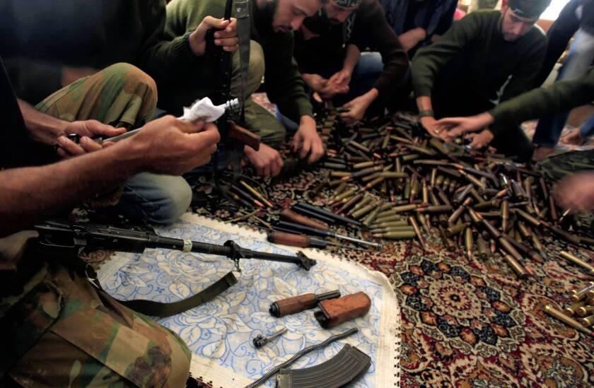 Syrian rebels face another foe: Al Qaeda-linked militants