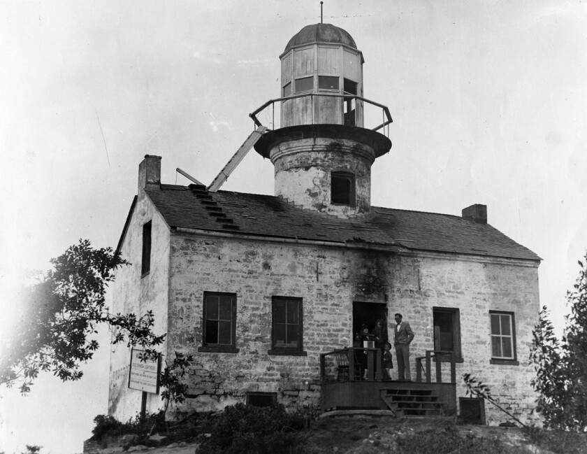 Lighthouse at Cabrillo National Monument, the. Old Point Loma Lighthouse. (File photo)