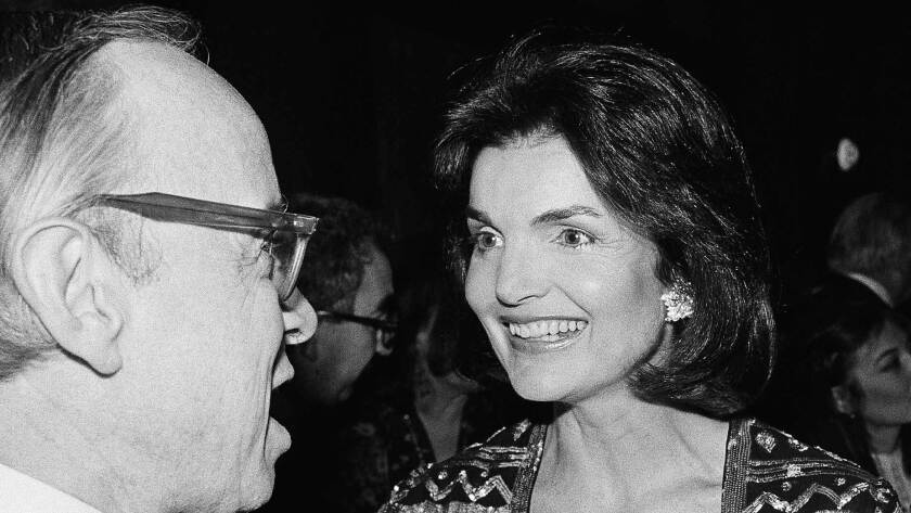 From the Archives: Jacqueline Onassis Dies; First Lady of ...