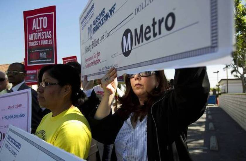 Transit tax failure has backers seeking changes to California law