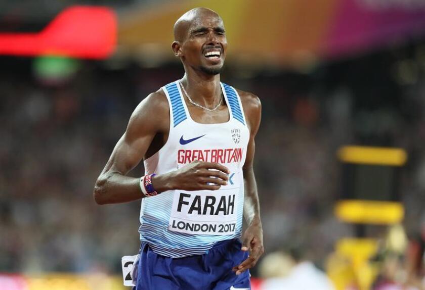 En la imagen, el atleta británico Mo Farah. EFE/Archivo