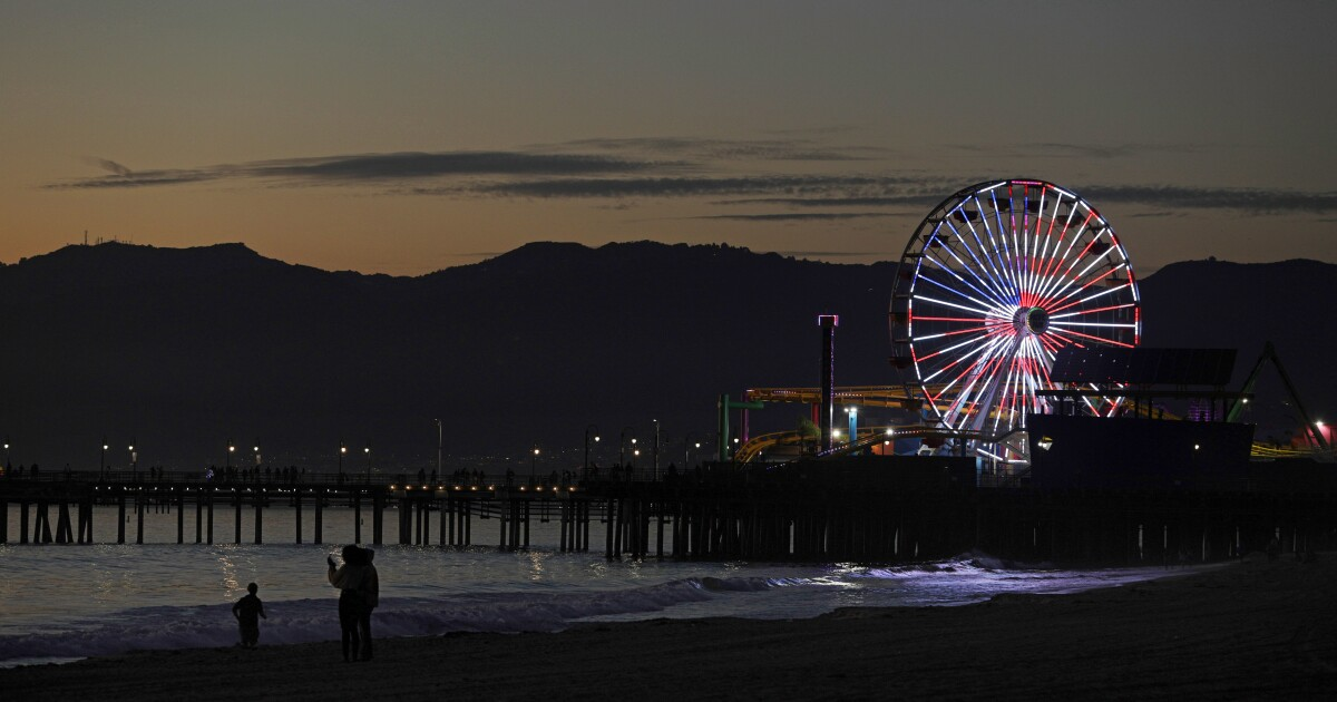 Santa Monica Pier will be closed for holiday and on weekends this month as COVID spike continues