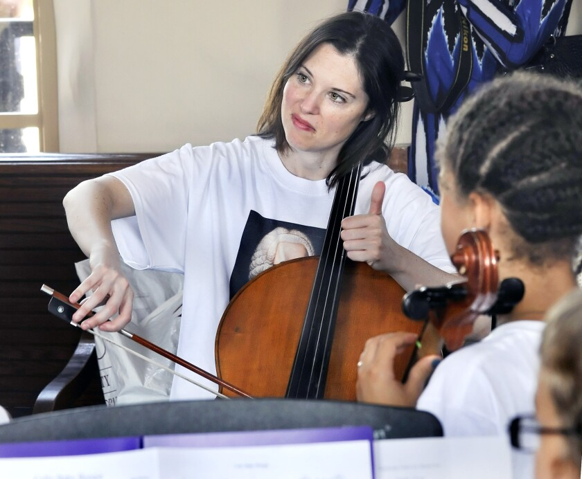 Photo Gallery: Bach on the right track