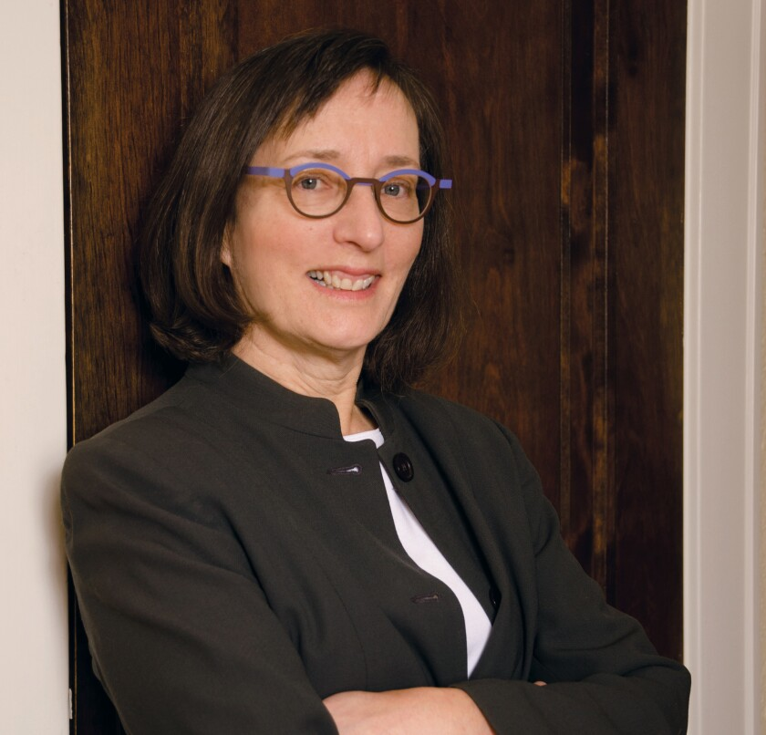 """Author photo of Julie Schumacher, author of """"The Shakespeare Requirement."""""""