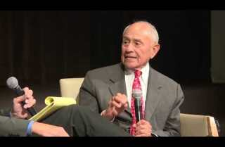 LAUSD Supt. Ramon C. Cortines in conversation with L.A. Times columnist Steve Lopez