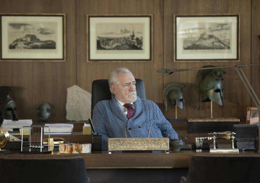 Brian Cox on Succession HBO